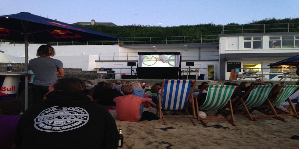 St Ives Surf School/Red Bull Outdoor Cinema
